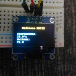 Medições meteorológicas com BeagleBone Black e display OLED – Embarcados