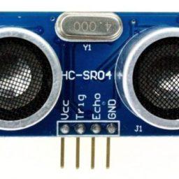 Medindo vazão utilizando um sensor ultra-sônico de distância