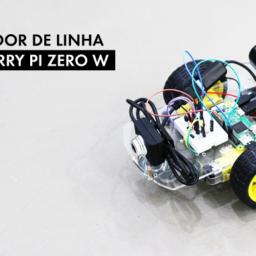 Robô seguidor de linha com Raspberry Pi Zero W e OpenCV